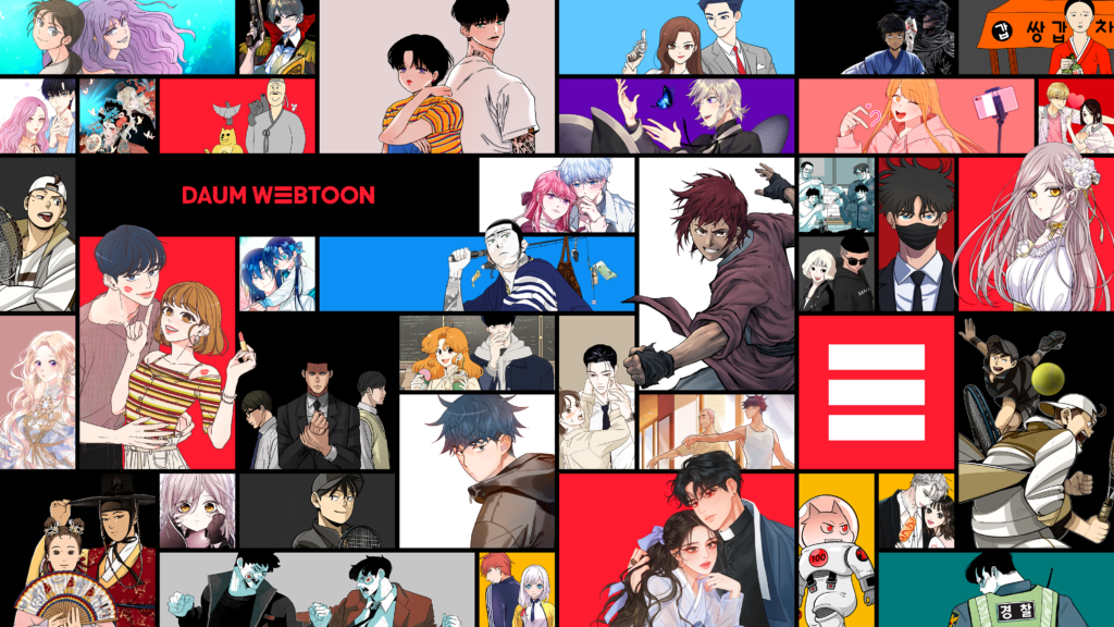 kworld-Daum Webtoon